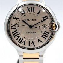 Cartier Ballon Bleu 42mm Or/Acier 42mm Argent Romain