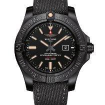 Breitling Avenger Blackbird Titanium 48mm Black No numerals United States of America, New Jersey, Princeton