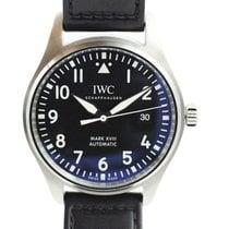IWC Fliegeruhr Mark Stahl 40mm Schwarz