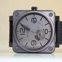 Bell & Ross BR 01-97 Réserve de Marche Steel 46mm Black Arabic numerals