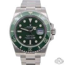 Rolex Submariner Hulk Green Bezel and Dial Steel 2017 116610LV