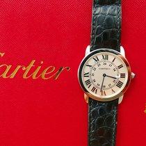 Cartier Ronde Solo de Cartier Stahl 36mm Silber Römisch Deutschland, Bad Endorf