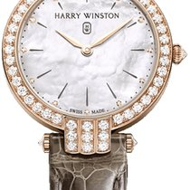 Harry Winston Premier Rose gold 36mm Mother of pearl United States of America, New York, Airmont