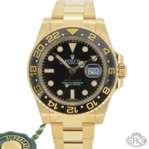 Rolex | GMT Master ii Yellow Gold Ceramic Bezel | 116718LN