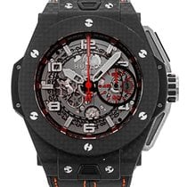 Hublot Big Bang Ferrari pre-owned 45mm Carbon