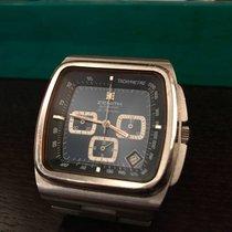 Zenith El Primero Chronograph Stahl 42mm Blau Keine Ziffern Schweiz, geneve