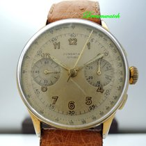 Junghans Chronograph 36mm Handaufzug gebraucht Silber