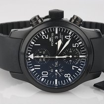 Fortis B-42 Flieger Automatic Chronograph Black Limited Edition