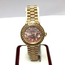 Rolex Yellow gold Automatic pre-owned Lady-Datejust