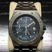 Audemars Piguet Royal Oak Offshore Chronograph Blue Dial -...
