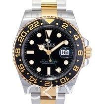 Rolex GMT-Master II Black/18k gold Ø40mm - 116713 LN