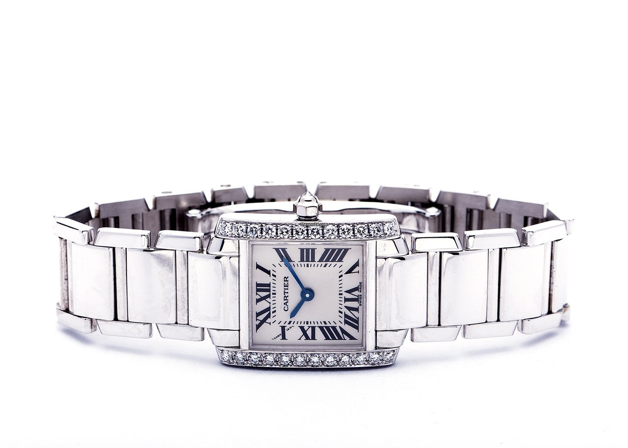 534084e8bc905d Cartier White gold watches - all prices for Cartier White gold watches on  Chrono24
