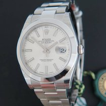 Rolex Datejust 41 Silver Dial NEW 126300