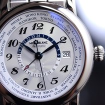 Montblanc Steel 42mm Automatic 106465 new
