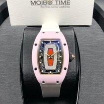 理查德•米勒 RM 07 Pink Ceramic Jasper Ladies Automatic [NEW]