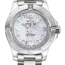 Breitling Colt 36 Steel 36mm Mother of pearl United States of America, New York, Airmont