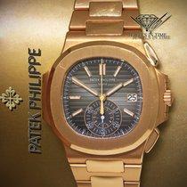 Patek Philippe 5980/1R-001 Oro rosado Nautilus 40.5mm