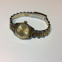 Rolex Oyster Perpetual (Submodel) pre-owned Gold/Steel