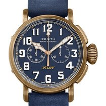 Zenith Bronze Automatic Blue 45mm new Pilot Type 20 Extra Special