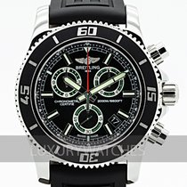 Breitling Superocean Chronograph M2000 Acero 47mm Negro