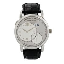 A. Lange & Söhne Lange 1 Platinum 38.5mm Silver United States of America, New York, New York