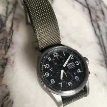 Oris Big Crown ProPilot Chronograph Stal 44mm Czarny Arabskie