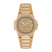 Patek Philippe Nautilus Rose gold 32mm Gold No numerals United States of America, New York, New York