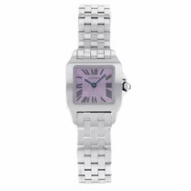 Cartier Santos Demoiselle Steel 22.5mm Purple United States of America, New York, New York