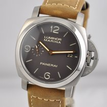 Panerai Luminor Marina 1950 3 Days Automatic Titanium 44mm Brown Arabic numerals United States of America, Ohio, Mason