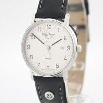 Bruno Söhnle Rondo Steel 30mm Silver Arabic numerals