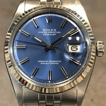Rolex Datejust Acier 36mm Bleu