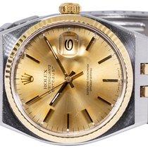 Rolex Datejust Oysterquartz Altın/Çelik 36,00mm Altın Sayılar yok