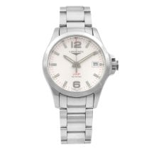 Longines Conquest Steel 41mm White Arabic numerals United States of America, New York, NYC