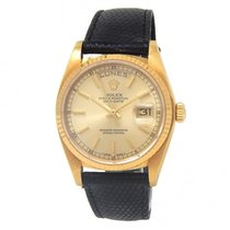 Rolex Or jaune 36mm Remontage automatique 18038 occasion