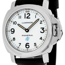 Panerai Luminor Base Logo Acciaio 44MM Mechanical Men Watch...