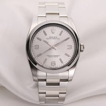 Rolex Oyster Perpetual 116000 Stainless Steel Silver Dial