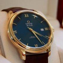 Omega De Ville Prestige 424.53.40.20.03.001 -DE VILLE PRESTIGIO Coassiale Oro/Cuoio new