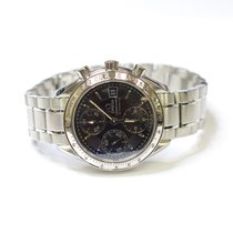 Omega Speedmaster Date Chronograph 39mm Stainless Steel Mens...