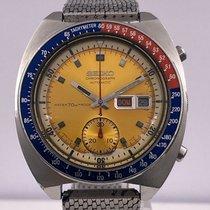 Seiko vintage 08/1970 AUTO chronographe PEPSI yellow dials REF...
