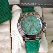Rolex Daytona Witgoud 40mm Groen