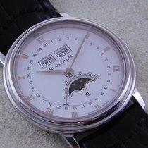 Blancpain Villeret Triple Calendar Mondphase 34 mm Cal 64