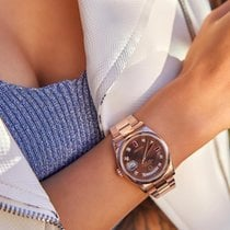 Rolex new Automatic 36mm Rose gold Sapphire Glass