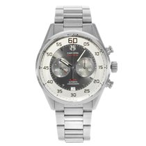 TAG Heuer Carrera Calibre 36 Steel 43mm Silver Arabic numerals United States of America, New York, NYC
