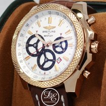 Breitling For Bentley Barnato Racing R2536624 18k Rose Gold...