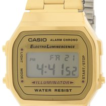 Casio Gold-Tone Stainless Steel Mens Watch