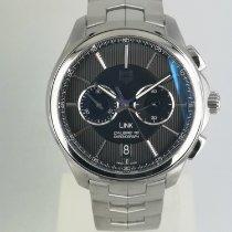 豪雅 計時碼錶 40mm 自動發條 新的 Link Calibre 18 黑色