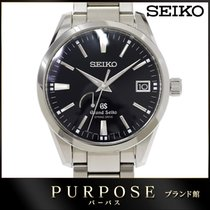 Seiko 40mm pre-owned Grand Seiko Black