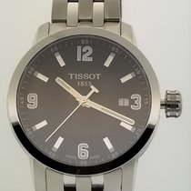 Tissot PRC 200 Stål 39mm Sort Arabertal