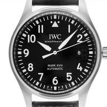 IWC Fliegeruhr Mark Stahl 40mm Schwarz Arabisch Deutschland, Stuttgart