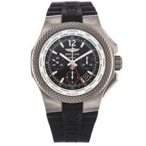 Breitling Bentley GMT Titanio 45mm Negro Árabes